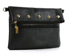 New Women's Zipper Tassel Handbag Shoulder Tote Satchel Cross Bag Korea Black