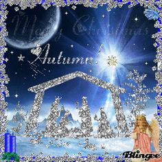 blingee graphics nativity | Wishing you and your family a very Merry Christmas and a blessed New ...