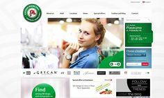 Auchan - Shopping Center website
