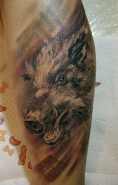 Boar Tattoo Images & Designs