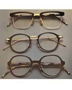 Glasses are one of the best accesories to add to a face. THOM BROWNE. cb96d0b4e4