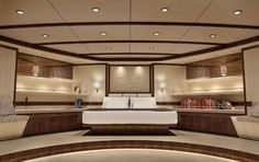 Schooner Master Cabin Concept
