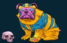 Josh Lynch – DOTMU: Dogs of the Marvel Universe