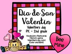 """Enjoy Valentine's day and reinforce with these fun activities!Flashcards for the words: el amigo, la amiga, el pastelito, las flores, el corazon  and el osito.Memory game for the words: el amigo, la amiga, el pastelito, las flores, el corazon and el osito.Greeting cards in Spanish """"Gracias por ser mi amiga"""" and """"Gracias por ser mi amigo"""" (Thanks for being my friend, for boys and girls).All files are in color and B&W.I hope you find these resources useful for your class!"""