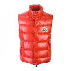 Moncler Women Chany Sleeveless Vest In Orangeredhttp://www.themonclerjacketonlineuk.com