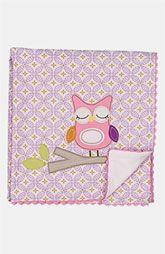 Living Textiles Owl Appliqué Blanket available at Baby Receiving Blankets, Soft Baby Blankets, Cotton Blankets, Baby Nursery Decor, Baby Decor, Nursery Ideas, Baby Shower Gifts, Baby Gifts, Owl Applique