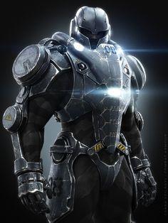 Combat Armor, Csaba Szilagyi on ArtStation at https://www.artstation.com/artwork/combat-armor