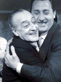 Alberto Sordi e Totò Principe Antonio De Curtia