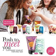 Try the new Posh To Meet You bundle and you can choose which 3 products you like…