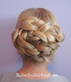 I love hair braids! With movies like Hunger Games and Frozen featuring braids, they have become one of Braided Hairstyles For School, French Braid Hairstyles, Easy Hairstyles For Medium Hair, Dance Hairstyles, Braided Hairstyles Tutorials, Pretty Hairstyles, Medium Hair Styles, Hairstyle Ideas, French Twist Updo