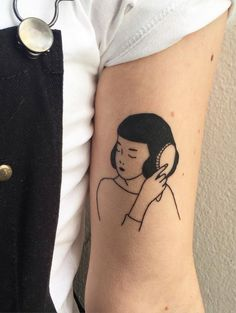 Tattoo by Sera Helen, illustration by Tallulah Fontaine