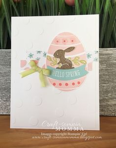 Craft-somnia Momma: Think Spring ~ Monday Montage - Hello Easter - SU