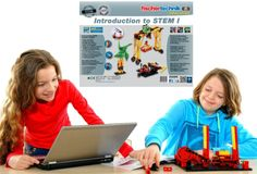 fischertechnik Introduction to STEM I –  Introduce elementary students to the exciting world of STEM using examples from everyday technology.