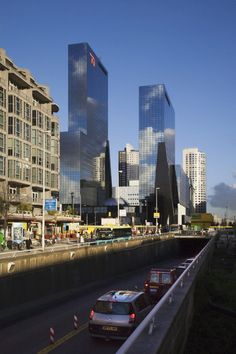Delftse Poort Offices. Bonnema Architecten. Rotterdam, Netherlands