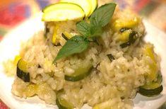 Risotto aux courgettes et au curry au Thermomix, un délicieux risotto crémeux et parfumé au curry, facile et simple à réaliser pour un plat familial.