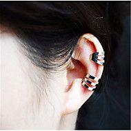 耳の袖口+合金+シルバー+ゴールデン+ジュエリー+のために+パーティー+日常+カジュアル+1個+–+JPY+¥+239