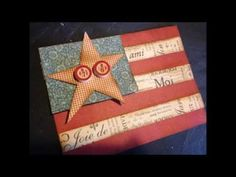 Americana Banner video tutorial by Denise Johnson! #graphic45 #tutorials #video