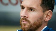 Lionel Messi's beard