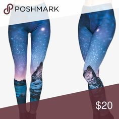 Super soft Zohra night sky leggings EUC. One size fits most! These are must have leggings to add to your collection! Zohra Pants Leggings