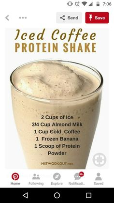 Check out this essential graphics in order to browse through the shown tips on Weight Loss Coffee Smoothies Protein Smoothies, Protein Shake Recipes, Smoothie Drinks, Protein Coffee Shake, Protein Shake For Breakfast, Healthy Low Calorie Breakfast, 310 Shake Recipes, Healthy Breakfast Smoothies, High Protein Snacks