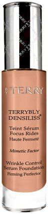 by Terry Women's Terrybly Densiliss Wrinkle Control Serum Foundation By Terry Foundation, No Foundation Makeup, Generation Beauty, Makeup Blending, Even Out Skin Tone, Waterproof Makeup, Workout Accessories, Airbrush Makeup, Skin Firming