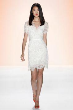 White Bridesmaid Dresses / Wedding Style Inspiration / LANE
