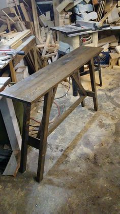 Oak Creek, Perfectly Imperfect, Woodworking, Tables, Furniture, Home Decor, Mesas, Decoration Home, Room Decor