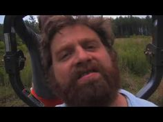 """Zach Galifianakis + Will Oldham's video for Kanye West's """"Can't Tell Me Nothing""""  ...In the running for best thing ever, IMO."""