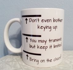 Levels of Dispatching Coffee Mug by NocturnalDispatchers on Etsy, $12.00