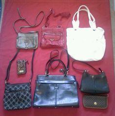 Designer Handbag & Wallet Lot Coach Nine West Kenneth Cole Nicole Miller & More!