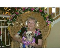 My Gramma with her baby :)