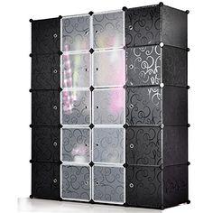 Unicoo - Multi Use DIY Plastic 20 Cube Organizer, Bookcas... https://www.amazon.com/dp/B00UY08Z7G/ref=cm_sw_r_pi_awdb_x_mJ3UybVDJ8FV3