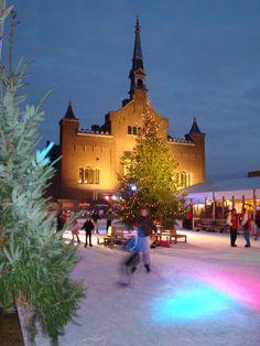 IJsplein, Hoogeveen, Drenthe.