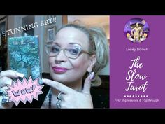 The Slow Tarot : First Impressions & Flipthrough Beautiful artwork! Check out my website for Tarot Readings and my Etsy shop for Indie Tarot decks . Tarot Reading, Tarot Decks, Indie, Daughter, Social Media, Etsy Shop, Watch, Videos, Youtube