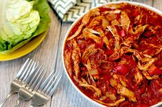 Hungry Girl's Healthy Slow Cooker Sloppy Joe Chicken Recipe