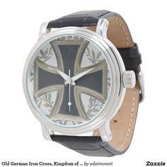 Old German Iron Cross, Kingdom of Prussia Wrist Watch