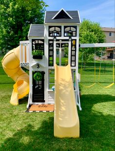 Backyard Playset, Backyard Playhouse, Backyard Patio Designs, Backyard For Kids, Backyard Paradise, Outdoor Playground, Next At Home, Outdoor Projects, Outdoor Fun