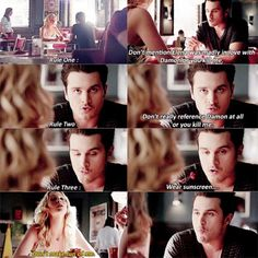 """6x03 """"Welcome to Paradise""""- Carolime: Do you understand the rules?"""
