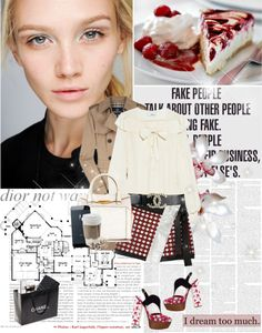 """""""Dior not war!"""" by primrosee ❤ liked on Polyvore"""