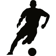 Soccer Wall Decal Sticker - 18 in. Soccer Player Silhouette Decoration Mural Art ( Black Vinyl ) TheVinylGuru http://www.amazon.com/dp/B0097ZEDPM/ref=cm_sw_r_pi_dp_ntqVwb07JE35Q