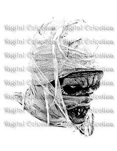 Mummy Halloween Monster.