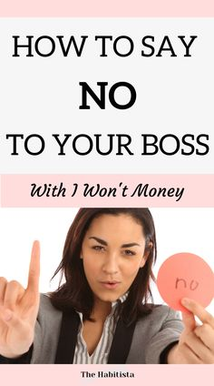 Have you ever wanted to say no to your boss? Or to ask for something without risking your job? By having I WON'T money you can. Learn how in this great guide! smart money | FU money | life values | intentional living How To Become Smarter, Life Values, Managing Your Money, Saving Ideas, Money Management, Personal Finance, Saving Money, Organize, Freedom