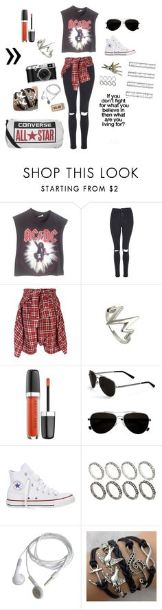 """""""Untitled #5"""" by bandsandbroadway ❤ liked on Polyvore featuring Vintage, Topshop, R13, Calvin Klein, Converse and ASOS"""