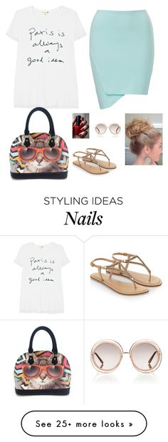 """""""Untitled #793"""" by azra-99 on Polyvore featuring Sundry, Accessorize and Chloé"""