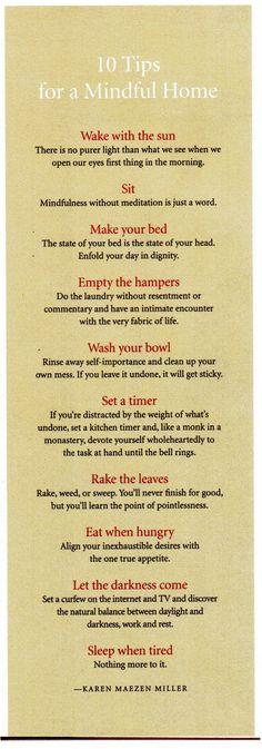 mindful life <3
