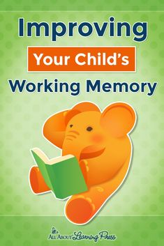 Working memory is one of the most important indicators of how easily a child can learn. This post will help you identify and improve working memory issues. Working Memory, Pediatric Ot, Memory Games, Dyslexia, Learning Resources, Activities For Kids, Improve Yourself, Parenting, Homeschooling