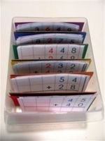 Montessori math organization using a tacklebox - The Hands-On Homeschooler Montessori Homeschool, Montessori Elementary, Montessori Classroom, Montessori Activities, Elementary Math, Math Classroom, Homeschooling, Math Words, Math Addition