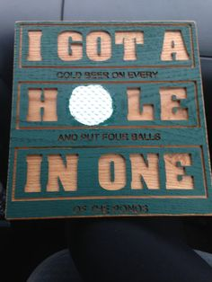 Golf Humor by LooseChipsWoodWork on Etsy