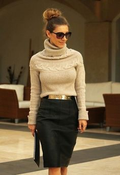 Stylish Fashion Combinations with Pencil Skirt
