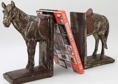 держатель для книг виде лошади